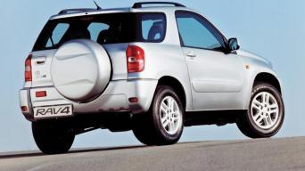 Antros kartos Toyota RAV4