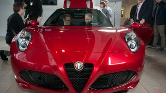 Alfa Romeo 4C Spider/Vytauto Pilkausko nuotrauka