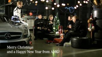 Kalėdiniai sausainiai nuo AMG