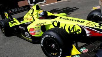 F1 bolido bandymas