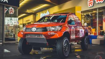 Overdrive Toyota Hilux/Vytauto Pilkausko nuotrauka