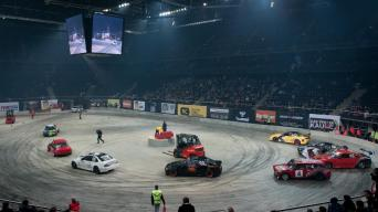 ASFA Motor Show 2013: driftas uždaroje patalpoje