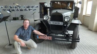 Ramūnas Kardelis - Asoc. Retromobile prezidentas/Retromobile nuotrauka