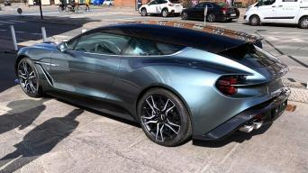 Aston Martin Vanquish Zagato Shooting Brake/Mariaus nuotrauka