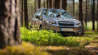Subaru Forester Facelift/Vytauto Pilkausko nuotrauka