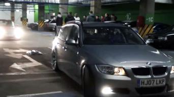 BMW išsišokimas