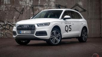 Audi Q5/Vytauto Pilkausko nuotrauka