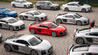 Audi R8 V10 Plus/Vytauto Pilkausko nuotrauka