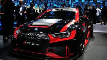 Audi RS3 LMS Sedanas/Vytauto Pilkausko nuotrauka