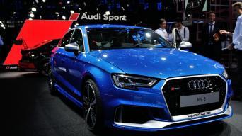 Audi RS 3 sedanas/Vytauto Pilkausko nuotrauka