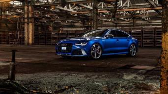 Audi RS7/Arnoldo Ivanausko nuotrauka