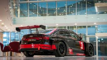 Audi RS 3 LMS/Vytauto Pilkausko nuotrauka