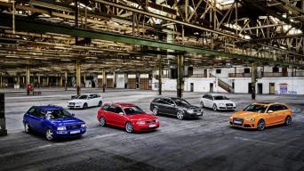 Audi RS modeliai