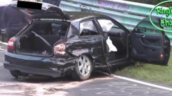 Audi S3 avarija