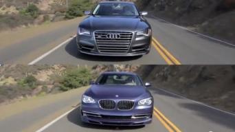 Audi S8 vs BMW Alpina B7
