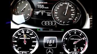 Audi S8 ir MB S63 AMG
