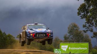 Australijos ralis 2017/Hyundai Motorsport nuotrauka