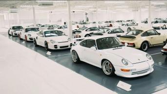 Porsche automobilių kolekcija