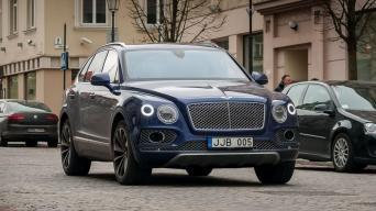 Bentley Bentayga/VilniusDrive nuotrauka