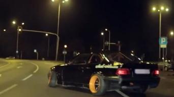 Drifteriai su BMW iš Lenkijos