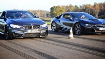 BMW i8 ir BMW M4