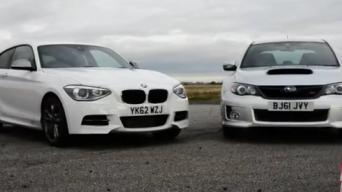 BMW M135i vs. Subaru WRX STi 320R