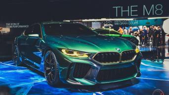 BMW M8 Gran Coupe Concept/Vytauto Pilkausko nuotrauka