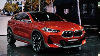 BMW X2 Concept/Vytauto Pilkausko nuotrauka