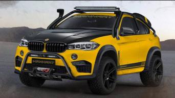BMW X6 M Dirt Manhart