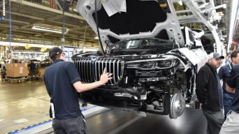BMW X7 gamyba