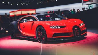 Bugatti Chiron Sport/Vytauto Pilkausko nuotrauka