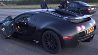 Bugatti prieš M5