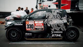 Toyota Gazoo Racing Hilux/Ryčio Šeškaičio nuotrauka