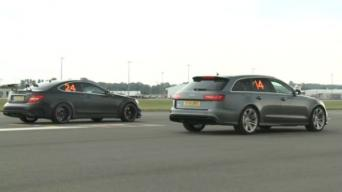 C63 AMG vs RS6