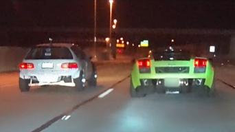 Civic vs Lambo