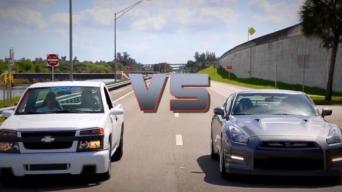 Colorado vs GT-R