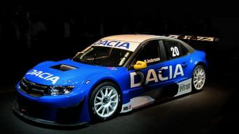 Dacia Logan STCC: iki šimto per 3 sekundes