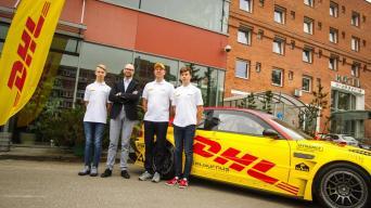 DHL Racing komanda/Dariaus Kibirkščio nuotrauka