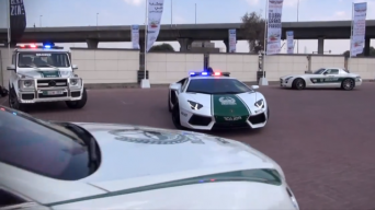 Dubajaus policijos superautomobiliai