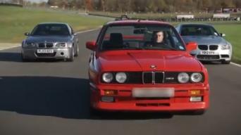 BMW M3 testas: E30, E46 CSL ir E92
