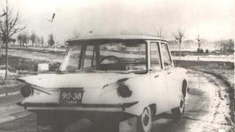 1970 m. Elektrėnų gatvėse/Retromobile nuotrauka