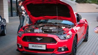 Ford Mustang pristatymas/Vytauto Pilkausko nuotrauka