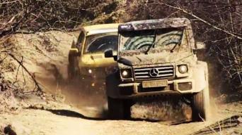 MB G-Class ir Ford Raptor