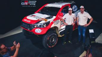 Toyota Gazoo Racing/Vytauto Pilkausko nuotrauka