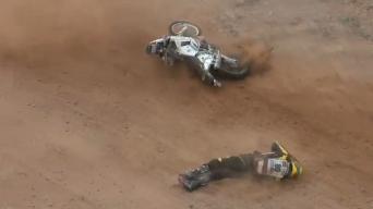 Gintauto Igario griūvimas Dakaro ralyje
