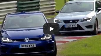 VW Glf R vs Set Leon Cupra 280