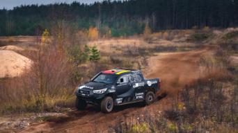 Toyota Gazoo Racing Hilux/Vytauto Pilkausko nuotrauka