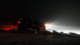 Žiemos ralis/G. Matulaičio nuotrauka