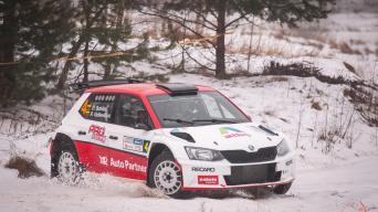 Halls Winter Rally 2017/Vytauto Pilkausko nuotrauka