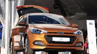 Hyundai i20/Vytauto Pilkausko nuotrauka